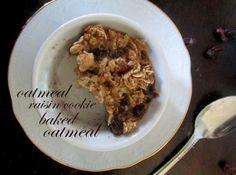 Oatmeal Raisin Cookie Baked Oatmeal