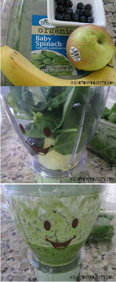Today I'm sharing my daughter's favorite recipe for a nutritious and tasty green smoothie that I hope your kids and you will love.