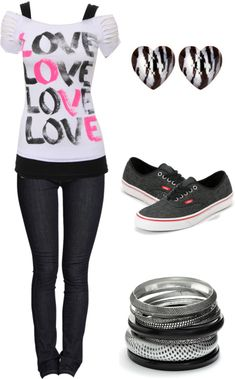 """""""love"""" by karlibugg ❤ liked on Polyvore"""