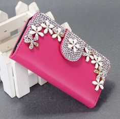 Aliexpress.com : Buy Rhinestone diamond case for iphone and for samsung and for LG G2 G3 fashion pu leather wallet case cover from Reliable case banana suppliers on Enet Technology Co.,ltd