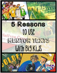 Mentor Text List for Reading Strategies: Literature.  This freebie includes a list of mentor texts for each of the following key reading strategies for literature: Inference, Theme, Characters, Figurative Language, Point of View, and Compare and Contrast.  Download this list at:  http://www.classroomfreebiestoo.com/2016/01/mentor-text-list-for-reading-strategies.html