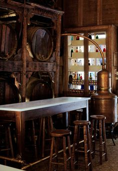 If you are in Athens, don't neglect to visit Brettos, a century olddistilleryand bar located in the heart of the old city. You'll be dazzled by the numerous coloredliqueurbottles on its selves, yet try to avoid tasting them all in one night ;)