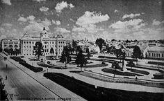 Praça Santos Andrade, 1947.