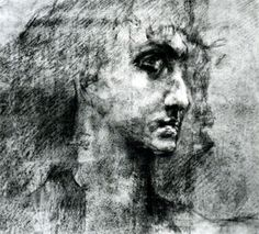 Head of angel - Mikhail Vrubel
