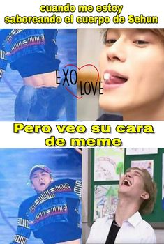 Sehun, Kpop Exo, K Pop, Kdrama Memes, Bts And Exo, Meme Faces, Best Memes, Funny, Super Junior