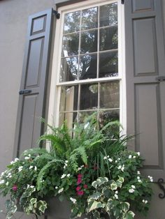 Janelas com Floreiras - Windows Boxes Flowers - Gosto Disto!