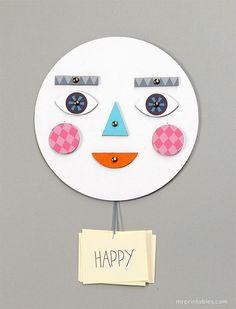 Make a Face! - Mr Printables