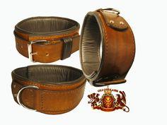 mit die besten Sattel Makers Leder Häute, dieser St.-Rochus-Auflistung ist ein 3-Zoll-2 Ton-Halsband mit einem 2-Zoll-Overlay-Armband, einzuknicken.