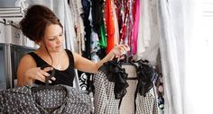 Malin Ortmann designade Carina Bergs klänning till Jönköpingsgalan 2011