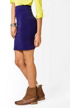 #Forever21                #Skirt                    #Basic #Knee #Length #Skirt #FOREVER #2021840547    Basic Knee Length Skirt | FOREVER 21 - 2021840547                             http://www.seapai.com/product.aspx?PID=107303