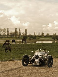 Morgan Three Wheeler by BastiaanImages, via Flickr
