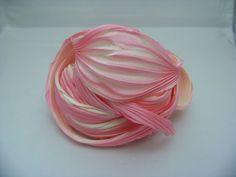 Hey, I found this really awesome Etsy listing at https://www.etsy.com/listing/188073676/pink-parfait-arashi-shibori-silk