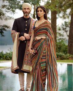 Trendy Sarees, Stylish Sarees, Fancy Sarees, Indian Bridal Outfits, Indian Fashion Dresses, Wedding Outfits, Indian Fashion Designers, Indian Designer Outfits, Designer Dresses