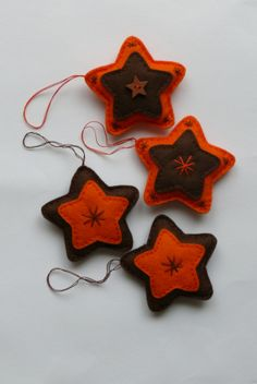 Vánoční dekorace hvězdičky.