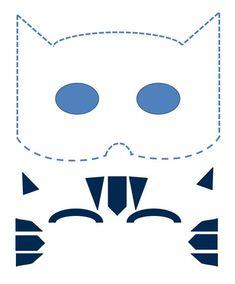 make your own catboy mask pjmasks activitysheet disneyjunior