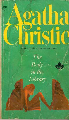 The Body in the Library by Agatha Christie.  Pocket Book edition, 1970.