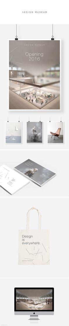 ISTD Design Museum branding / trudy georgina