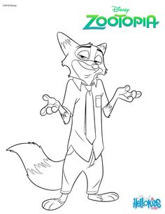 Dibujos Para Pintar Zootopia Dibujosparapintar