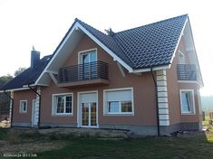 Projekt domu Karmelita 138,35 m2 - koszt budowy - EXTRADOM Home Fashion, Shed, Outdoor Structures, House Styles, Outdoor Decor, Home Decor, Houses, Decoration Home, Room Decor