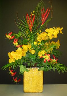 Large Tropical Arrangement- By Christina Villasenor