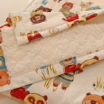 This links to a great website with lots of baby blanket patterns!  http://tipnut.com/baby-blankets-sewing   projectsforyournest.blogspot.ca
