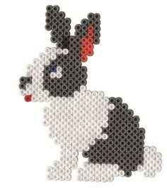 Rabbit Hama beads - Hama 3128