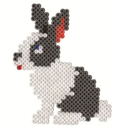 Rabbit Hama beads - Hama 3128