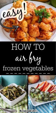 How to Air Fry Frozen Vegetables