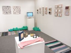 Her thesis show. ALISON JEAN WORMAN