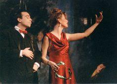 Baal 1991- zusammen mit Jenny Schilly auf der Bühne in Berlin