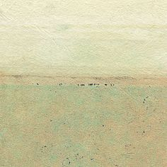 Small Landscape Collage - Microcosm #2 by Janet Jones