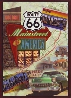 Mainstreet of America, Route 66.