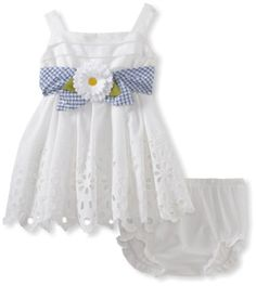 Sweet Heart Rose Baby-Girls Infant Eyelet Dress With Diaper Cover, White, 24 Sweet Heart Rose,http://www.amazon.com/dp/B00AWMC216/ref=cm_sw_r_pi_dp_mMAesb0BP69N9DAF
