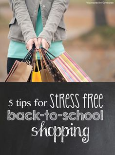 Stress-Free Back-to-School Shopping *great list of tips. when do your kids start school?