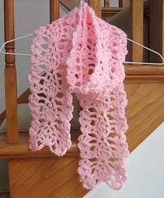 Ravelry: Lacy Pineapple Scarf pattern by Roseanna Beck