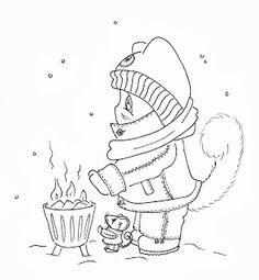 Sliekje digi Stamps: More winter stamps
