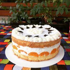 Lemon Blueberry Cheesecake, Homemade Cheesecake, Cheesecake Cake, Blueberry Cake, Easy Vanilla Cake Recipe, Easy Cake Recipes, Lemon Desserts, Food Cakes, Cream Cake