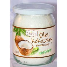 Olej kokosowy tłoczony na zimno 900ml EVTRA VIRGIN
