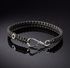 Hook Macrame Bracelet - Grey