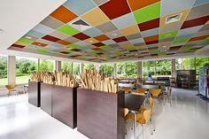 Acoustic ceiling ROCKFON (Color-all A)