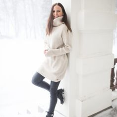 Neuleet ja neuletakit | PURA Finland - Part 4 Villa, High Neck Dress, Polo, Warm, Knitting, Finland, Sweaters, Dresses, Fashion
