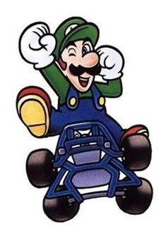 A collection of official artwork images from Super Mario Kart on the SNES including the main characters like Mario, Luigi, Bowser, Toad, Yoshi and Princess Toadstool and their karts. Super Mario Kart, Super Mario Brothers, Super Nintendo, Mario Bros., Mario And Luigi, Diddy Kong, Karts, Super Mario World, Nerd Art