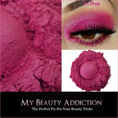 Pink Mineral Eye shadow-v.i.pink ($5) ❤ liked on Polyvore featuring beauty products, makeup, eye makeup, eyeshadow, bath & beauty, brown, eye shadows, eyes, makeup & cosmetics and mineral eye shadow