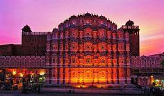 Pink Palaca Jaipur, India