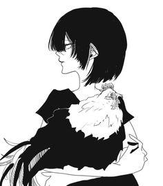 Nakamura Asumiko, Waifu Material, Epic Art, Anime Artwork, Manga Art, Monochrome, Fantasy Art, Digital Art, Illustration Art
