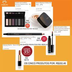 Se vale a pena??  Com essa dica você recheia sua necessaire com a Make completa e economiza mais de R$100,00!!!  Só até dia 09/10...  Mas o DESCONTO PROGRESSIVO é válido para todas as linhas... pode ser hidratante, perfume, maquiagem, sabonete, shampoo... também pode misturar...(só não vale para presentes e outras promoções)  Compre pelo link: http://rede.natura.net/espaco/biabeatrizcardoso
