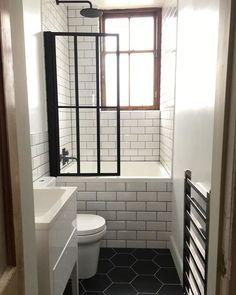 Tiny bathrooms 574068283753982036 - Source by mdsphotographe Tiny House Bathroom, Japanese Bathroom, Small Bathroom With Tub, Small Bathroom Makeover, Tub Shower Combo, Bathrooms Remodel, Bathroom Makeover, Soaking Tub Shower Combo, Shower Tub