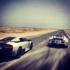 Lambo vs Bugatti
