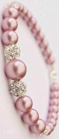 ~Pink Pearls Bracelet~