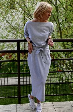More colors                                                                                        NINA 100% cotton maxi dress with belt /  handmade / Long Sleeves / with pockets / Round Neckline / long dress / elegant dress / Grey dress                                                                    SistersBrand                                         5 out of 5 stars                                                                                                                               Spring Fashion Casual, Oversized Dress, Large Size Dresses, Cotton Dresses, Maxi Dresses, Gray Dress, Elegant Dresses, Etsy, Belt